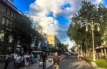 Arbat - Jibek Joly boulevard, Almaty