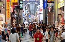 Shinsaibashi-suji, Osaka