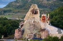 Troll park Senja, Norway