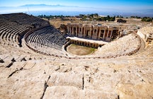 The archeological theatre of Paphos