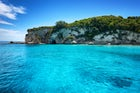Discover the famous blue mythological caves in Paxos island