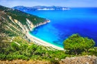 Myrtos Beach in Kefalonia