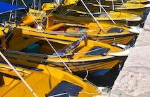 Yellow Boats  Agia Efimia Kefalonia
