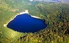 Sfanta Ana volcanic lake (Ciomatu Mare)
