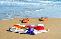 "Milos Beach, the ""virgin"" unspoilt destination"