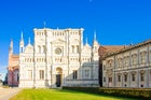 Certosa di Pavia, one of largest monasteries in Italy