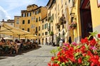 Eat in the Main Square of Arezzo