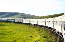 Circum Baikal train, Listvyanka's Port Baikal