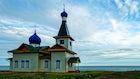 Orthodox church in Listvyanka