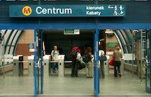 Metro Centrum Station (Patelnia), Warsaw