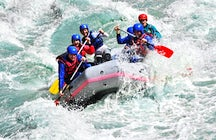 Rafting on Struma River, near Simitli