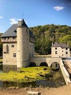 Crupet castle, Carondelet castle, Crupet, Belgium