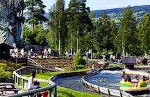 Family park of Hunderfossen