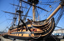 The HMS Victory in Portsmouth
