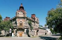 The Fainberg mansion, Irkutsk