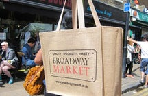 Broadway Market, London