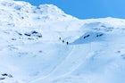 Skiing in Narvik