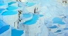 Mineral-rich thermal waters in Pamukkale