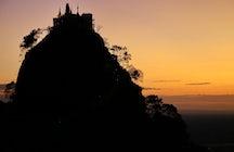 Mt. Popa, Central Myanmar