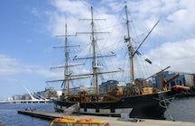 Jeanie Johnston Sail Ship in Dublin