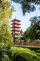 The Japanese Tower of Laeken , Brussels