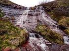 Waterfall Kaludjerski Skok, Mt. Stara Planina