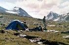 Galdhøpigg mountain range