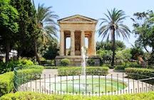 Lower Barrakka Gardens, Valletta