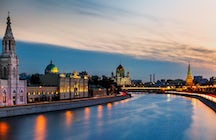 The Moskva River (Moskva-reka)