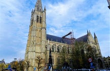 Saint Martin's cathedral Ypres
