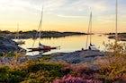 Boat trip in Stockholm Archipelago