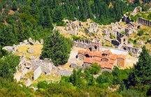 Archeological site of Mystras
