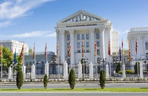 The governmental building in Skopje