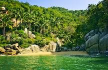 Playas Conchas Chinas, Puerto Vallarta
