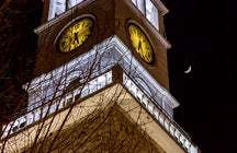 Go up for the views: Clock tower
