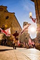 Medieval Fest in San Gimignano