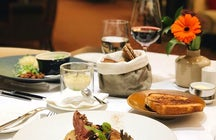 Riverbank restaurant, Slovakia