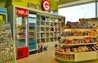 Ginger shop at Varna airport