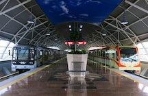 Metro station at Sofia airport