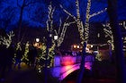 Christmas market in the Leopoldpark
