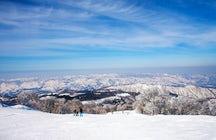 Nozawa Onsen snow resort, Nagano