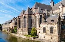 Saint Michael's Church in Ghent