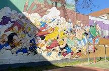 Astérix & Obélix mural, Brussels