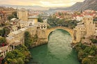 Stari Most bridge in Mostar