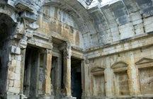 Le Temple de Diane à Nîmes