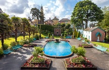 Portmeirion village, location for films and television shows