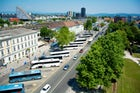 Bus Station Ljubljana, Slovenia