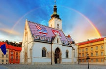 St. Mark's Church in Zagreb