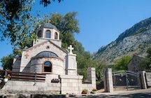 The Church of St. Vasilije of Tvrdoš and Ostrog in Mrkonjići