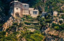 Mount Athos, a unique male monastic society